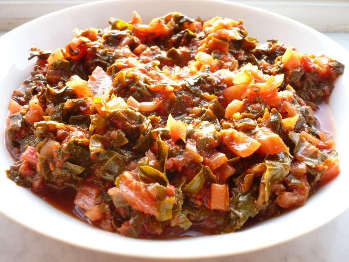 gerecht met tomaten