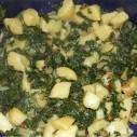 Snijbiet met aardappelen, een Kroatisch recept